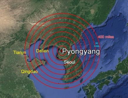 Korea War Map